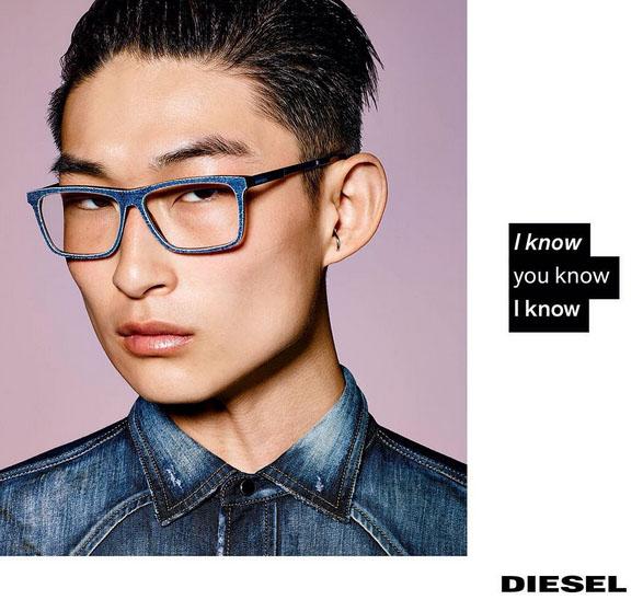 886b63556ed4 Diesel optical campaign Buy Diesel glasses ...